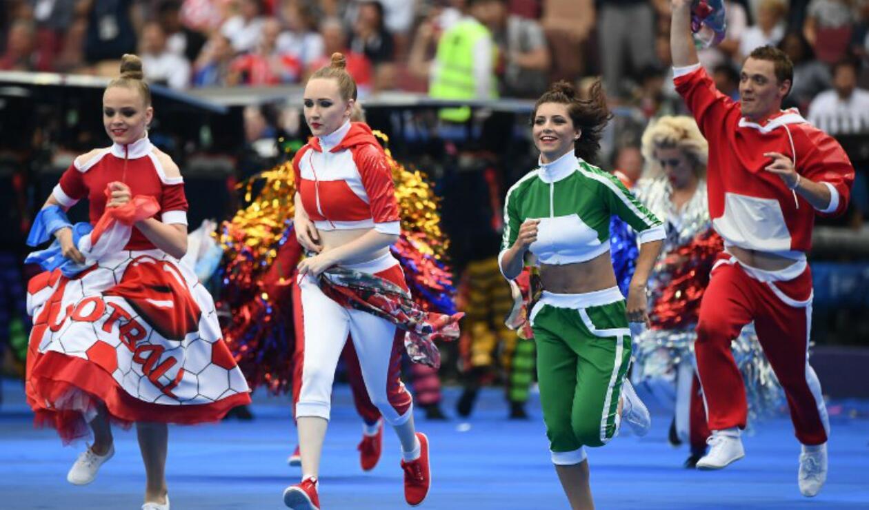 Show de clausura del Mundial de Rusia 2018