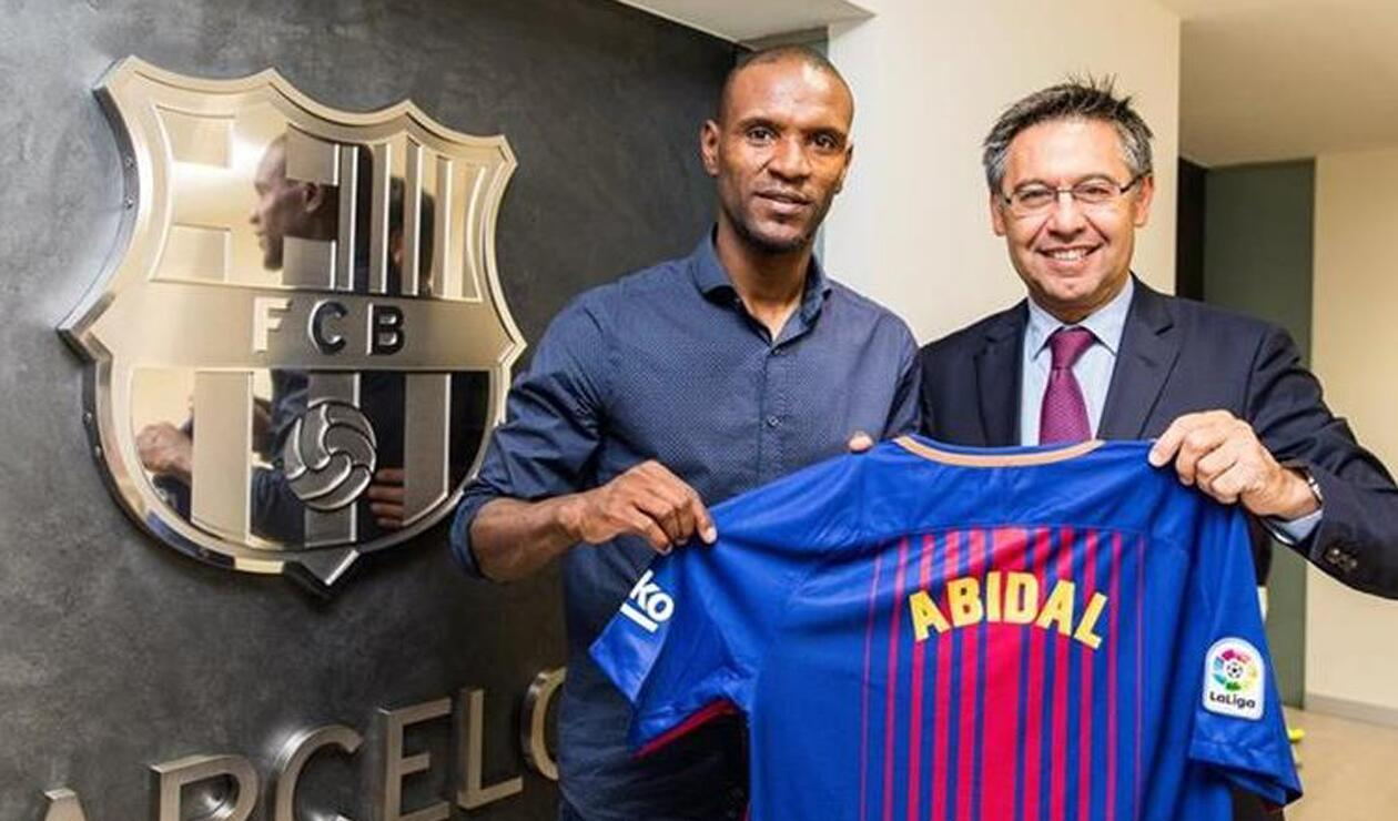 Éric Abidal FC Barcelona