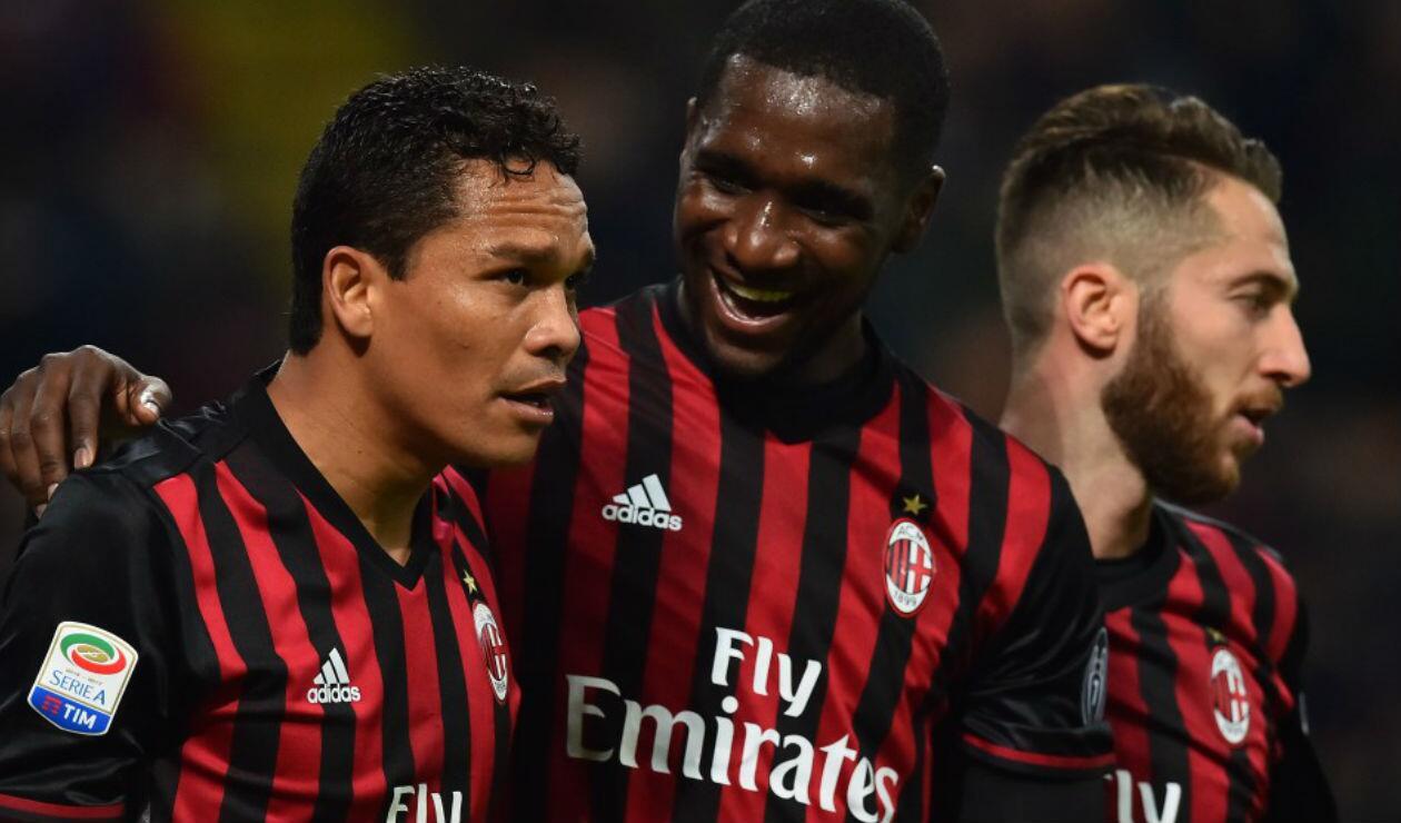 AC Milan, de Cristian Zapata y Carlos Bacca, fue excluido de las competiciones europeas por fair play