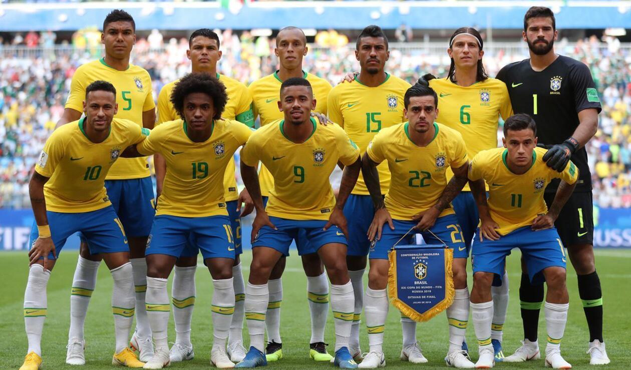 Brasil México Rusia 2018