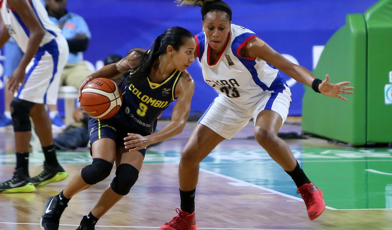 Colombia ganó medalla de oro en baloncesto femenino