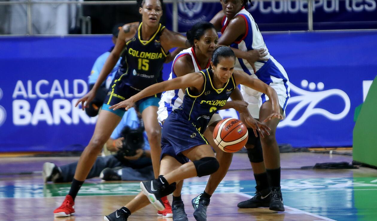 Colombia venció a Cuba y se hizo con el oro en el baloncesto femenino