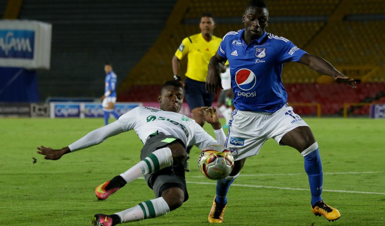 Deiver Machado jugó en Millonarios hasta el 2017