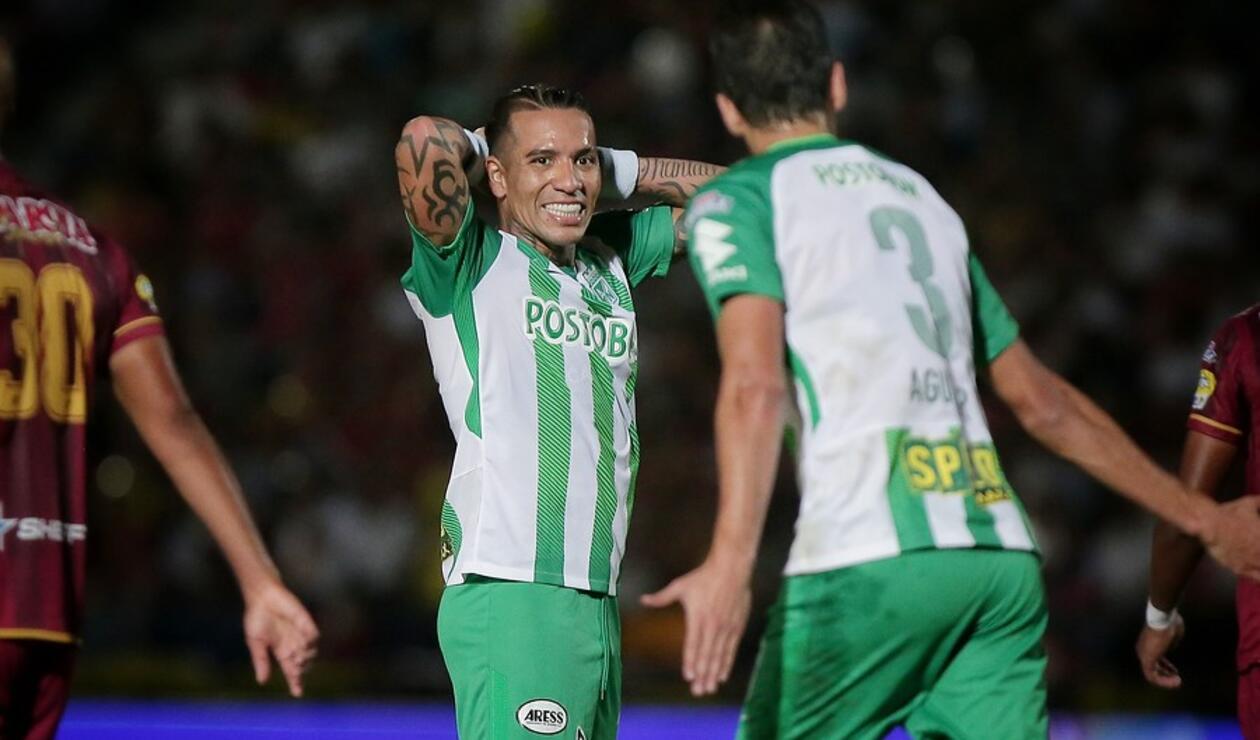 Dayro Moreno, delantero de Atlético Nacional