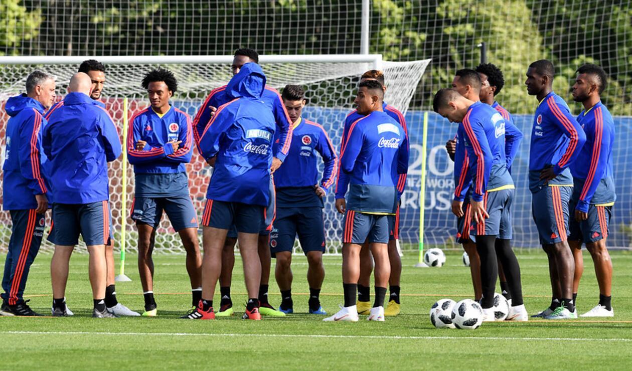 Farid Díaz está concentrado con la Selección Colombia en Rusia 2018