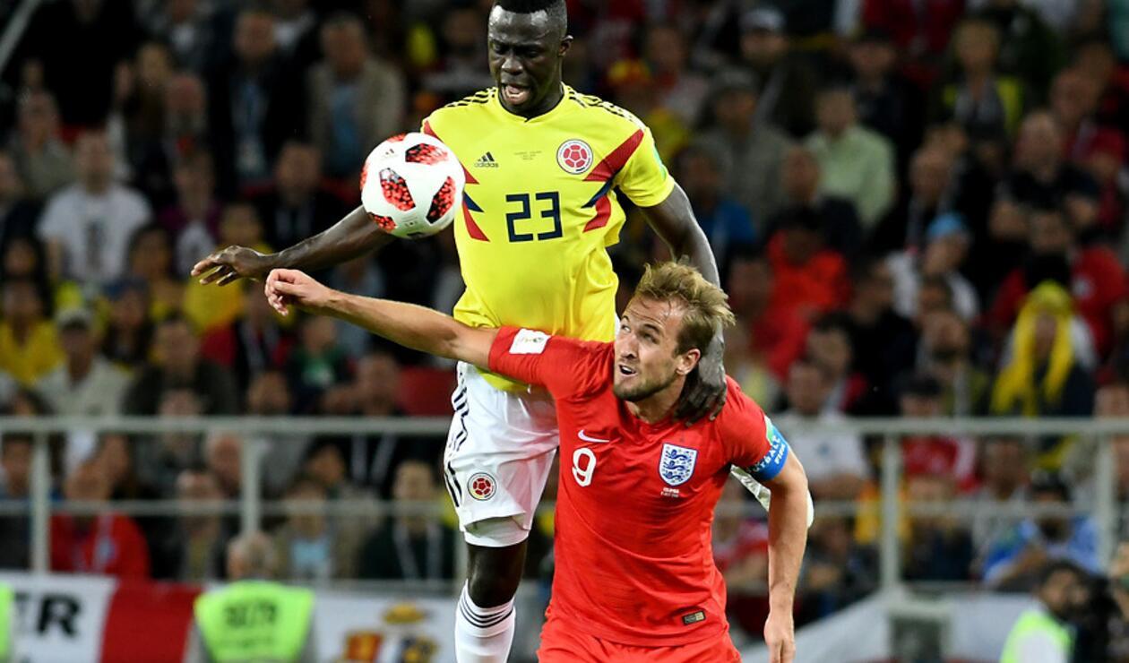 Colombia e Inglaterra en octavos de final de Rusia 2018