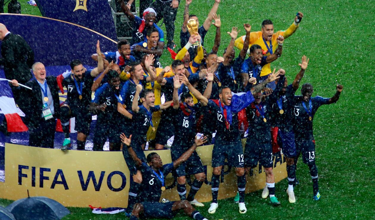 Francia, campeón del Mundial Rusia 2018 tras vencer 4-2 a Croacia en la final