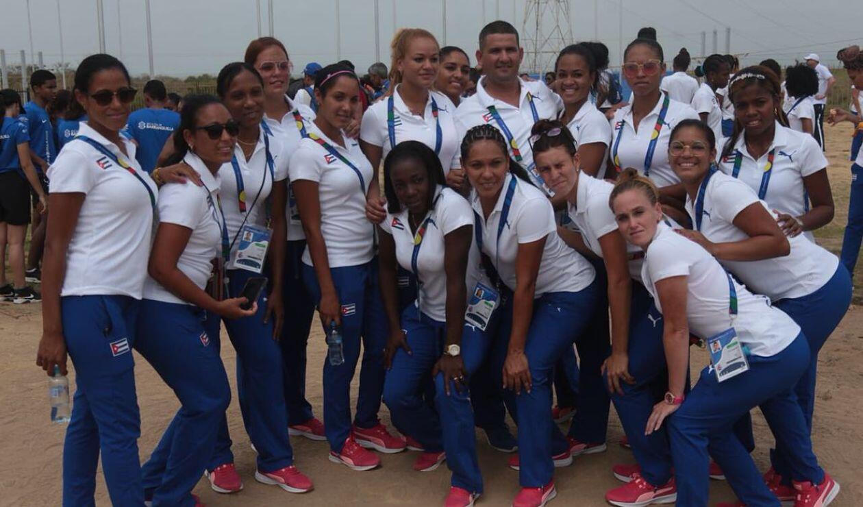Delegación de Cuba - Juegos Centroamericanos y del Caribe de Barranquilla