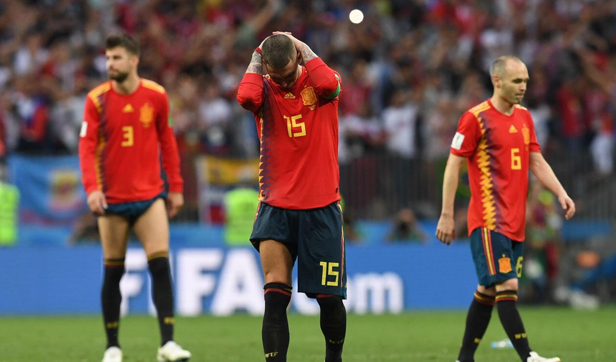España su eliminación en el Mundial a manos de Rusia por penales