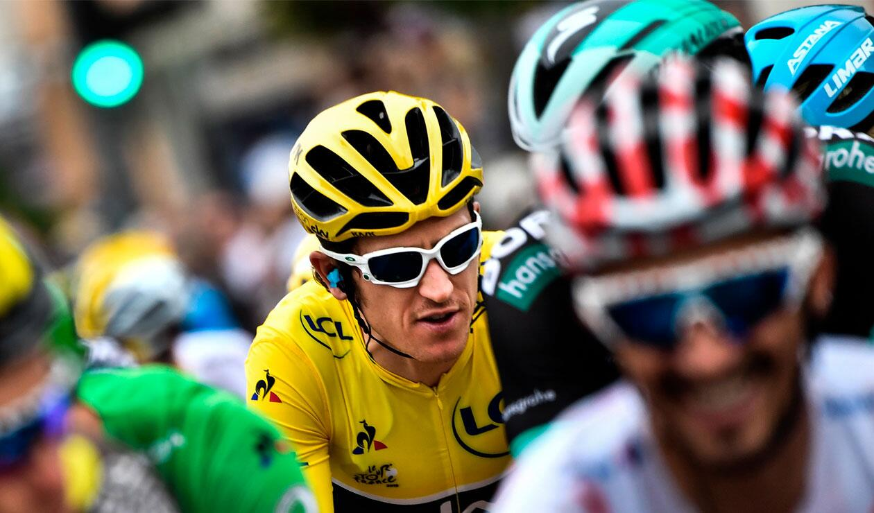 Geraint Thomas, virtual campeón del Tour de Francia 2018