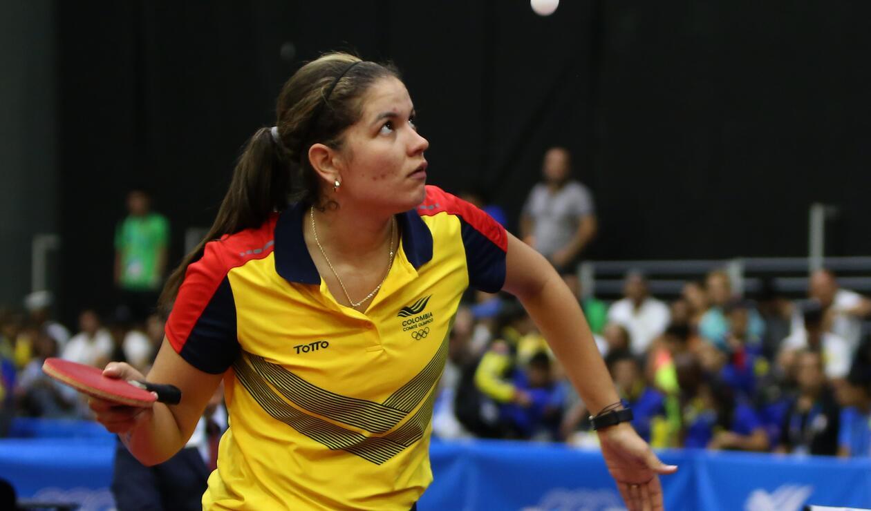 Colombia se llevó la presea de plata en Tenis de Mesa