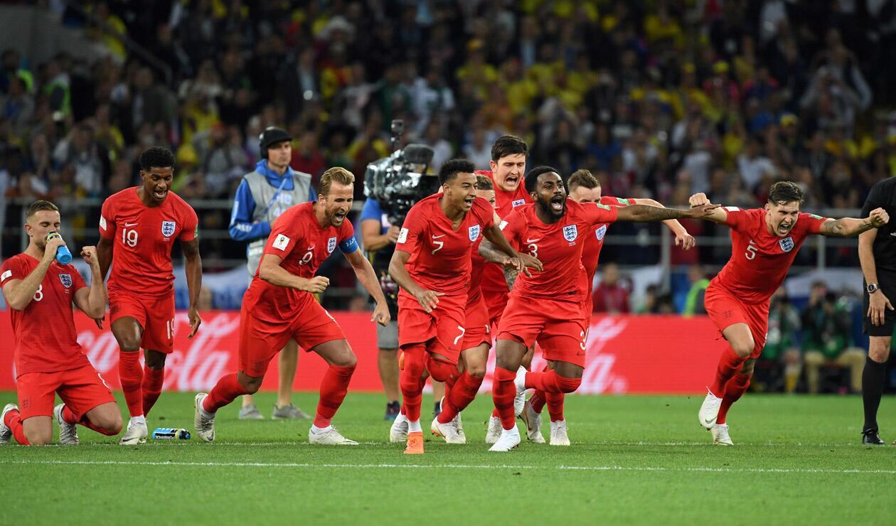 Inglaterra eliminó a Colombia en octavos de final de Rusia 2018