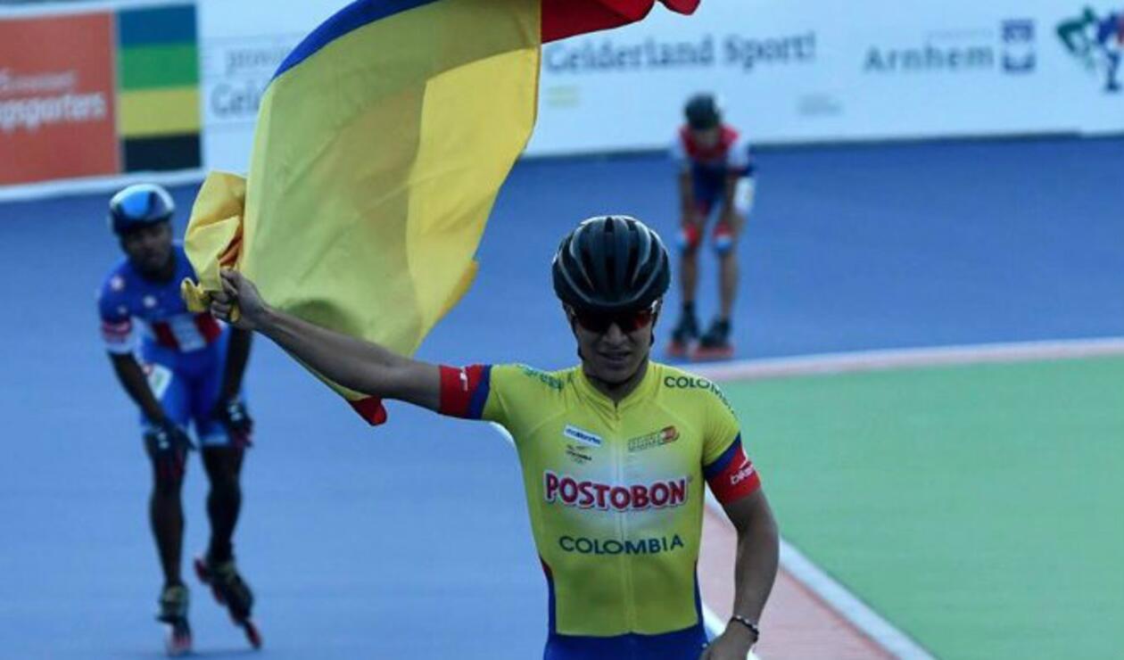 Juan Pablo Arango Selección Colombia Patinaje