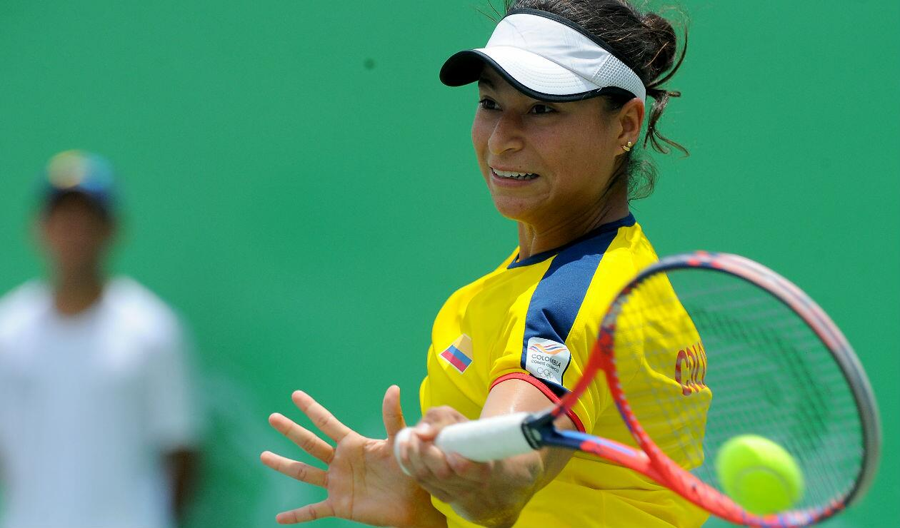 María Fernanda Herazo quedó eliminada del torneo de Tenis de los Centroamericanos