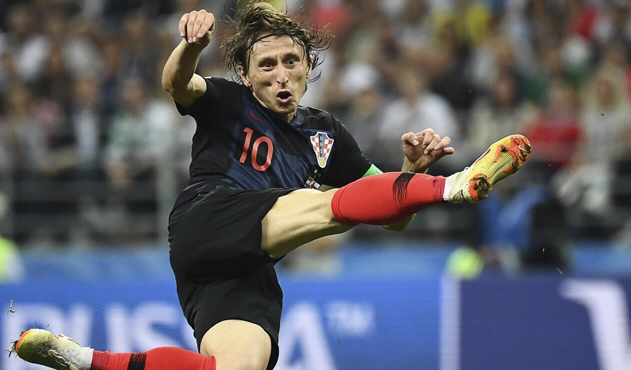 Luka Modric es la gran estrella de Croacia en Rusia 2018