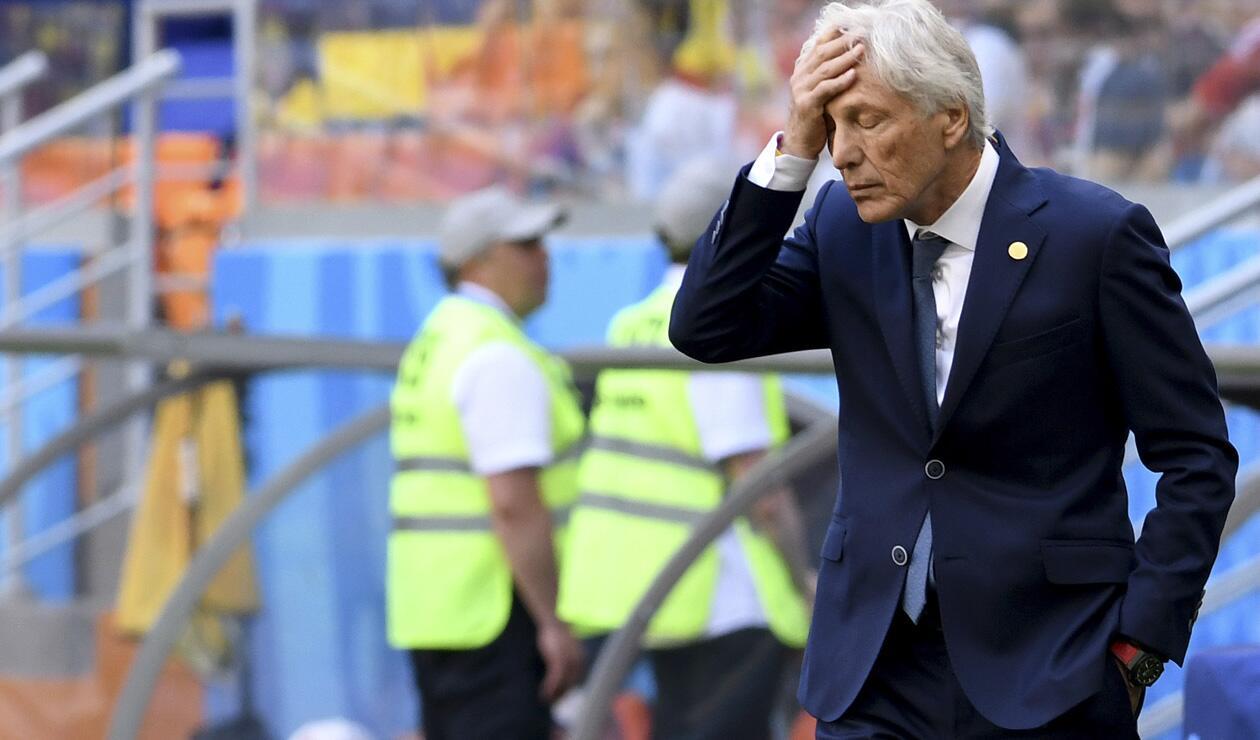 José Pékerman no pudo evitar la eliminación de Colombia de Rusia 2018