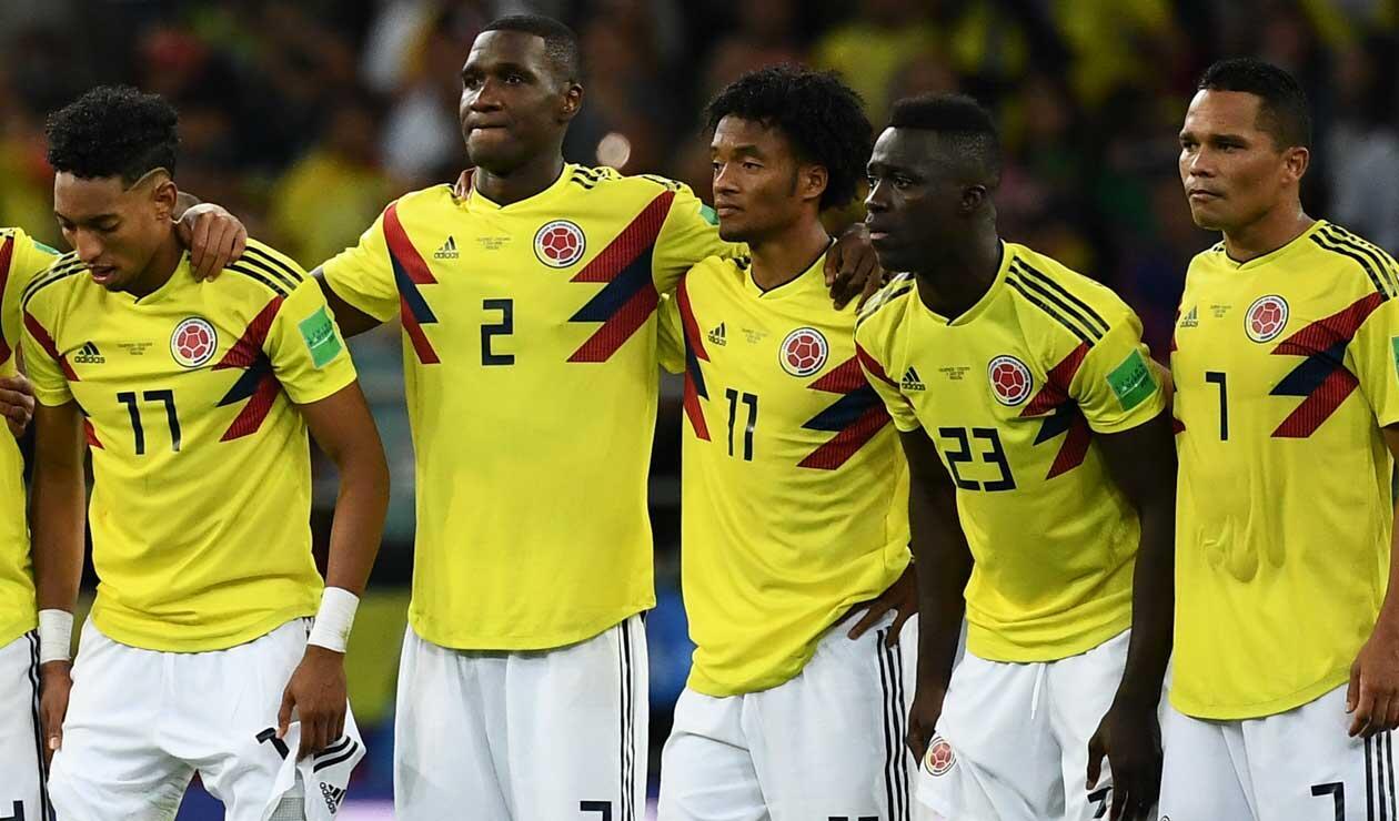 Colombia quedó eliminada por penales ante Inglaterra en el Mundial de Rusia 2018