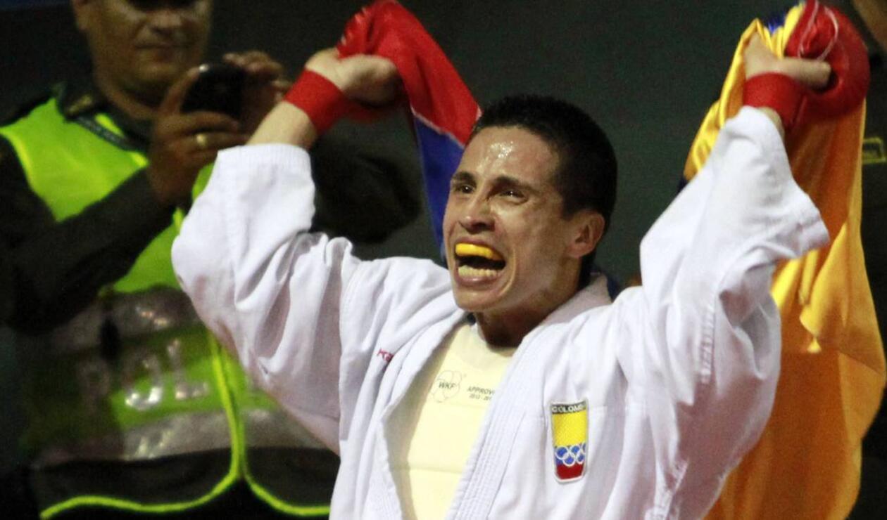 Andrés Rendón ganó oro para Colombia en Karate