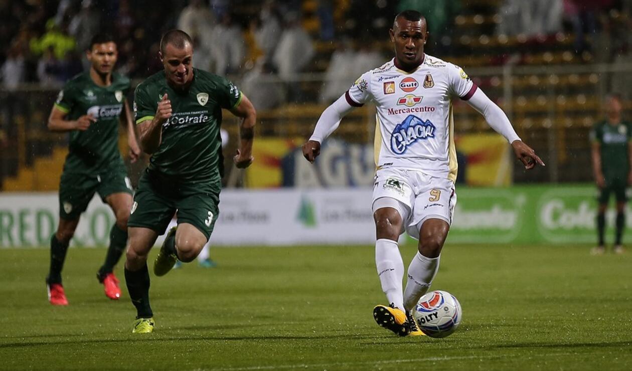 Ángelo Rodríguez es el goleador del Deportes Tolima