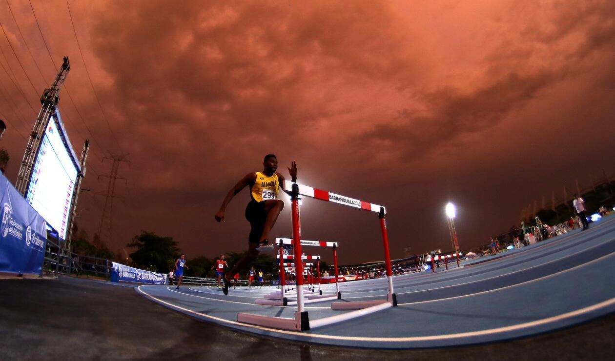 Annsert Sylver Jamaica 400 mts con obstaculos Centroamericanos 2018