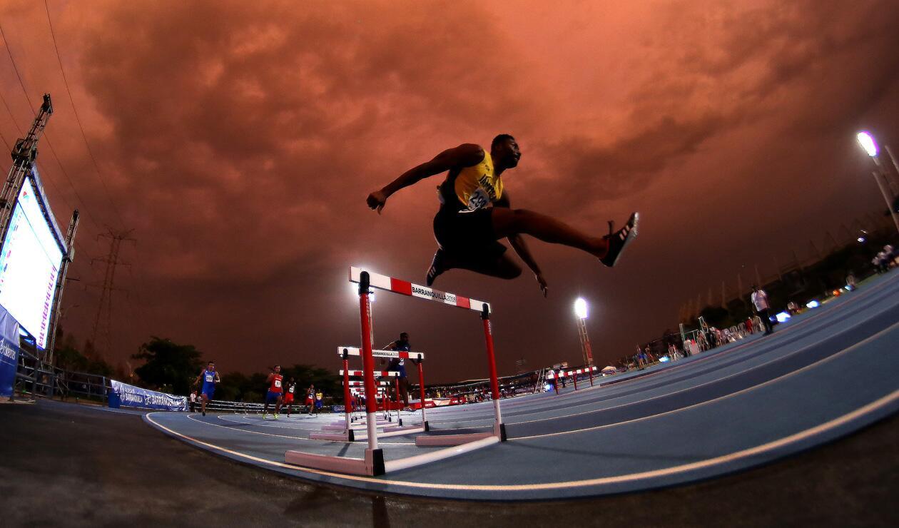 Annsert Sylver Jamaica 400 mts con obstaculos Centroamericanos 2018 2