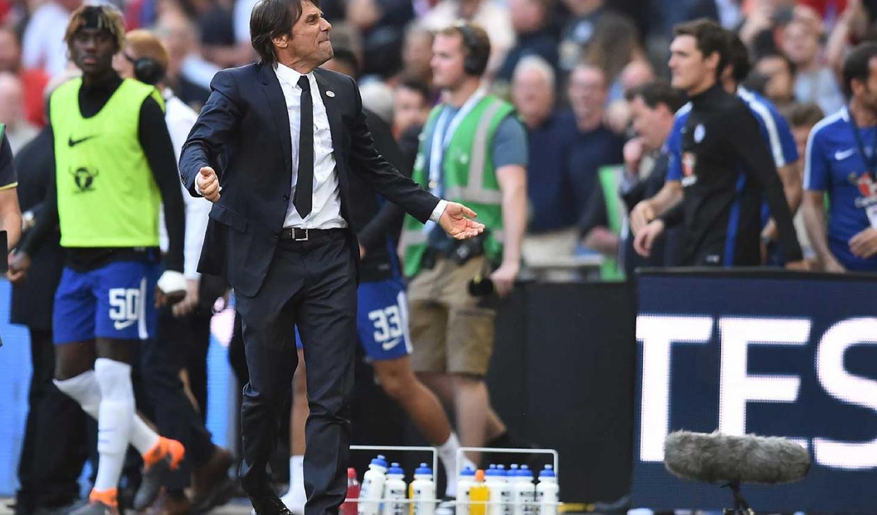 Antonio Conte, extécnico del Chelsea
