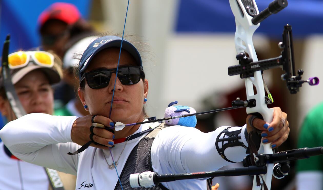Deportista colombiana de Tiro con Arco