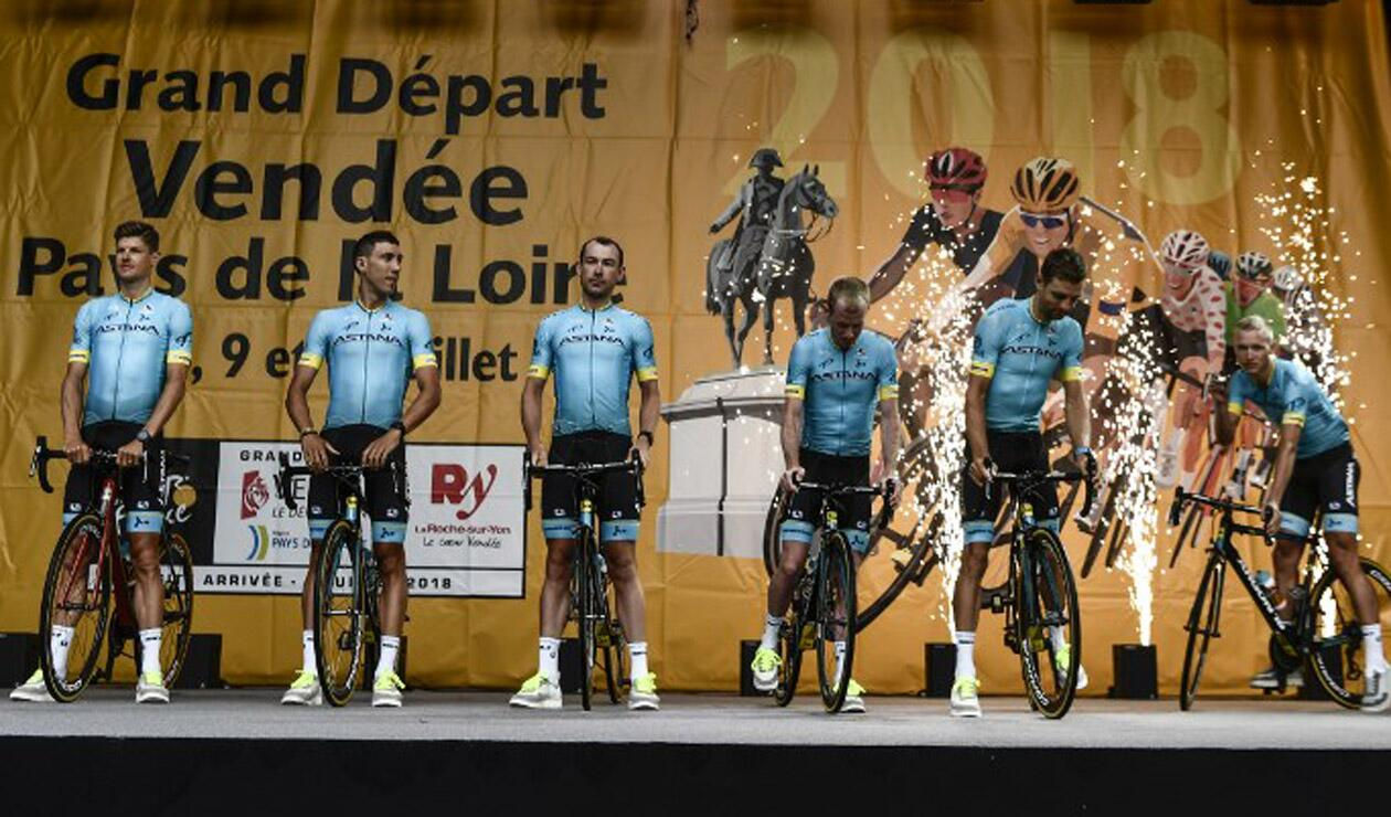 Luis León Sánchez abandonó el Tour de Francia