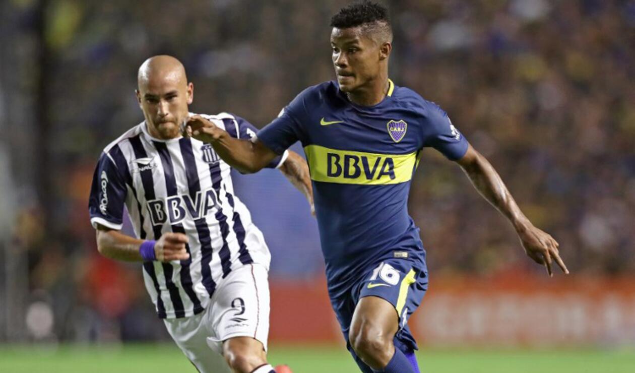 Wilmar Barrios seguiría siendo jugador de Boca Juniors