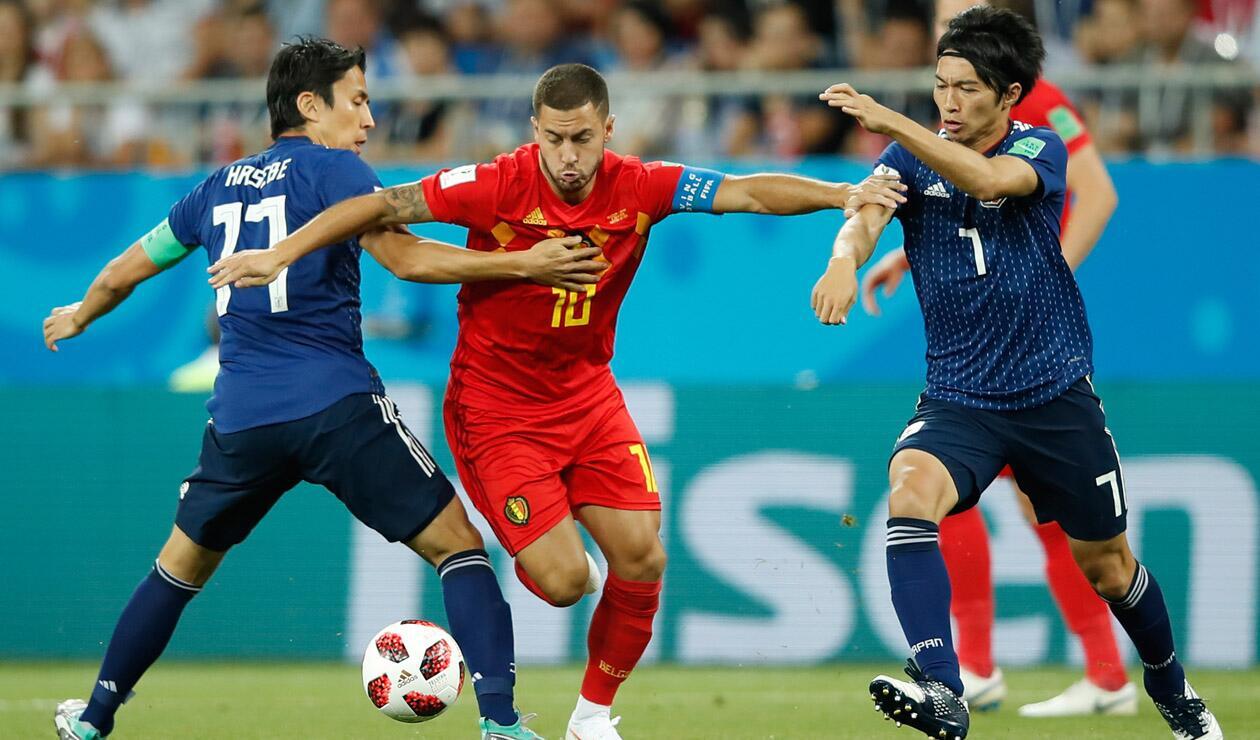 Bélgica vs Japón - Octavos de Final