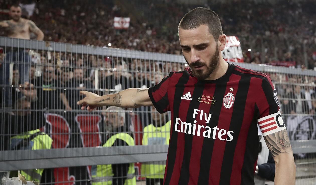 Leonardo Bonucci, defensor del AC Milan