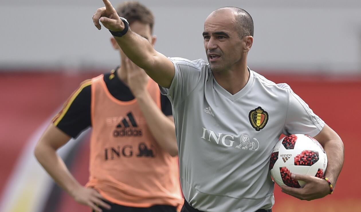 Roberto Martínez cumplió una destacada campaña con Bélgica en Rusia 2018