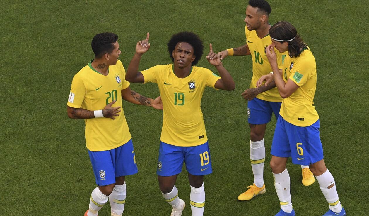 Willian es figura con Brasil en Rusia 2018
