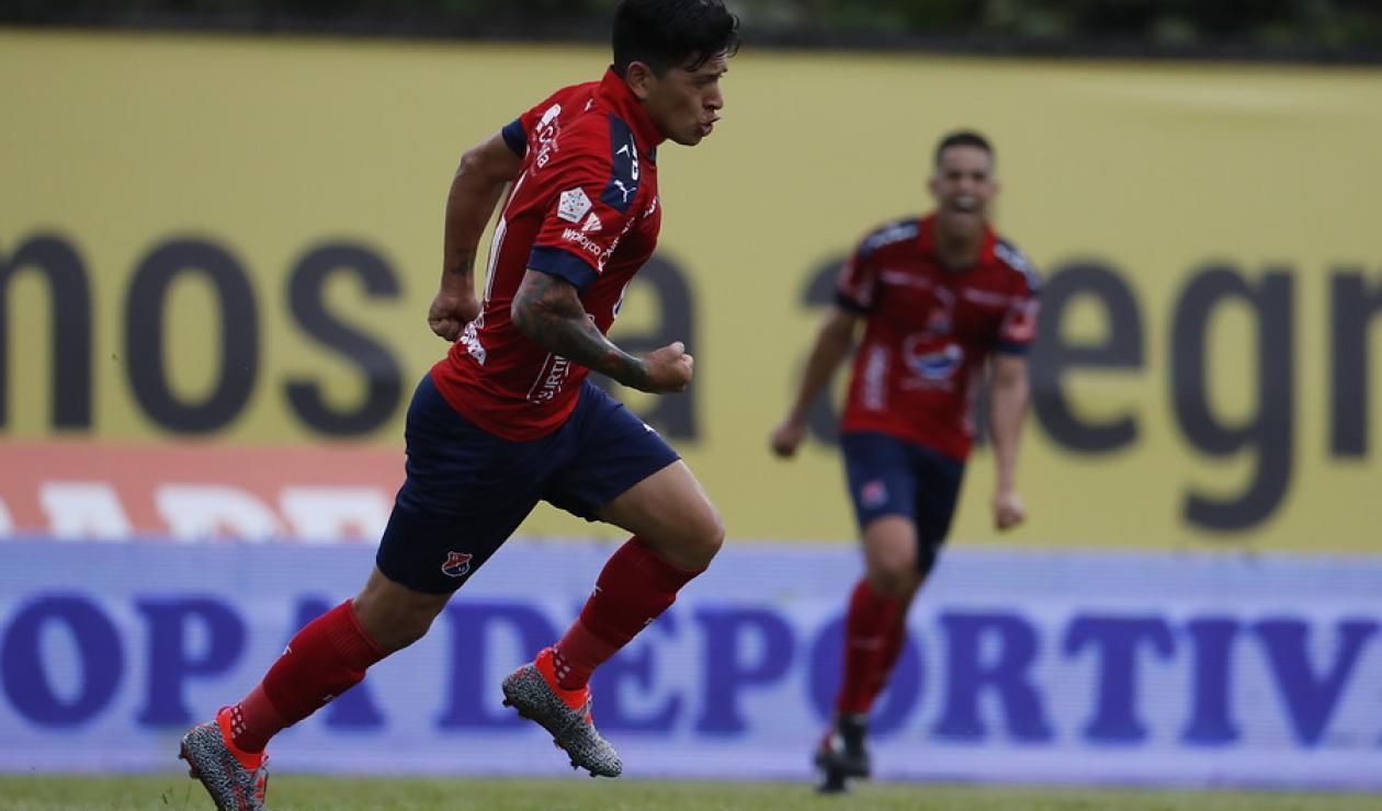 Germán Cano, goleador del Medellín.