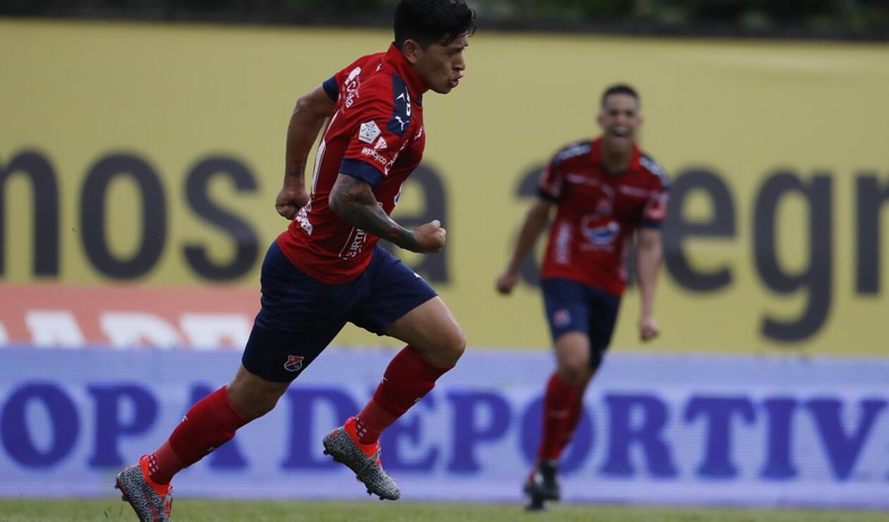 Germán Cano, goleador del Medellín