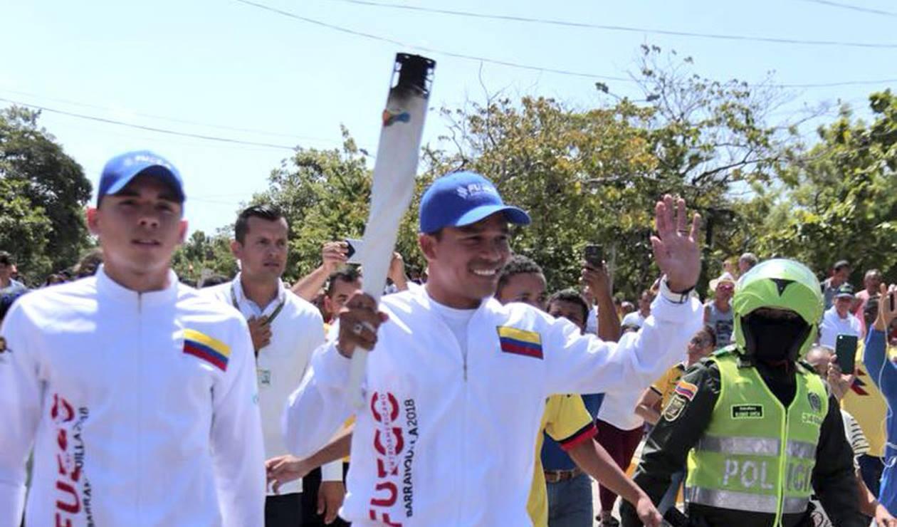 Carlos Bacca Juegos Centroamericanos y del Caribe de Barranquilla