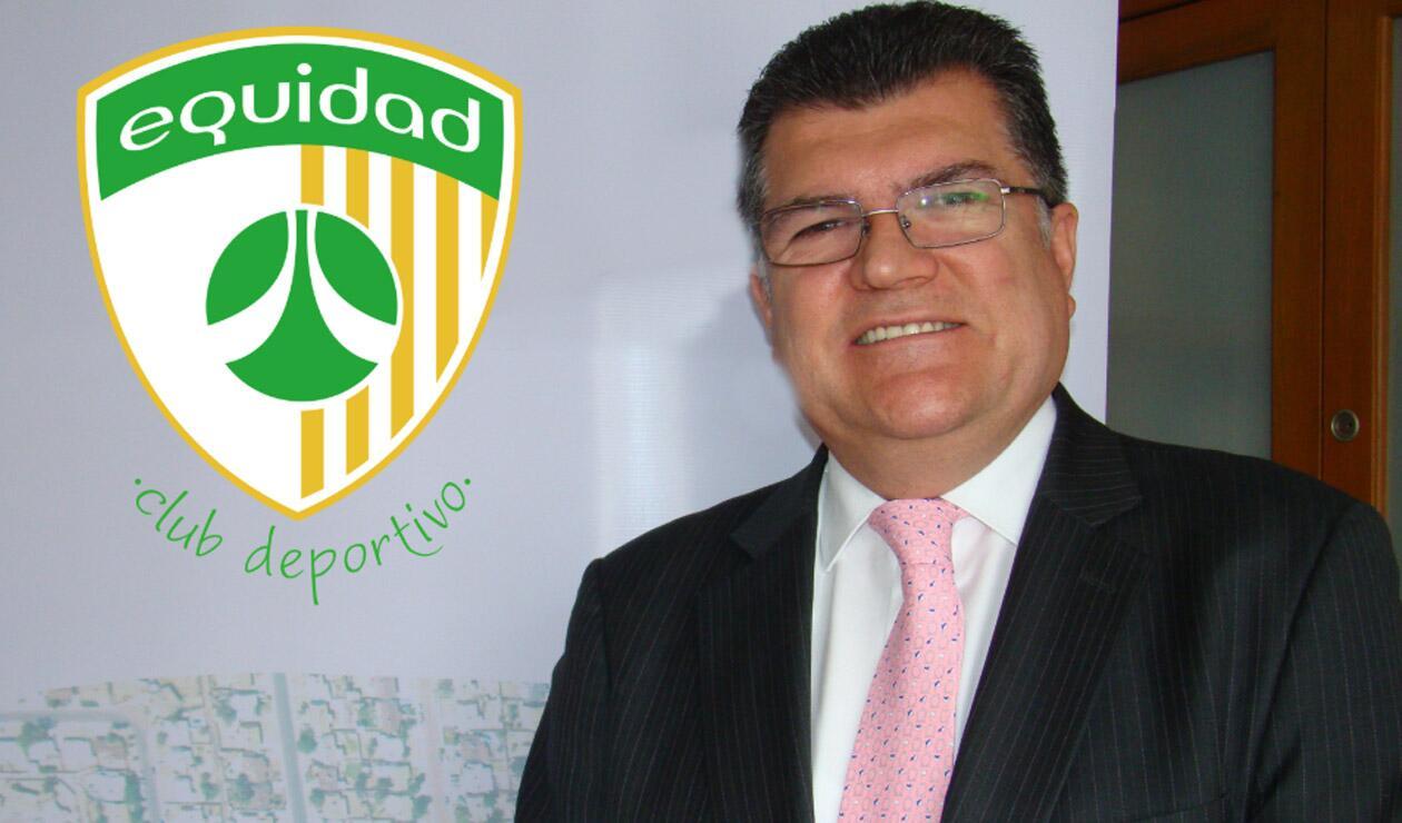 Carlos Mario Zuluaga, presidente de la Equidad