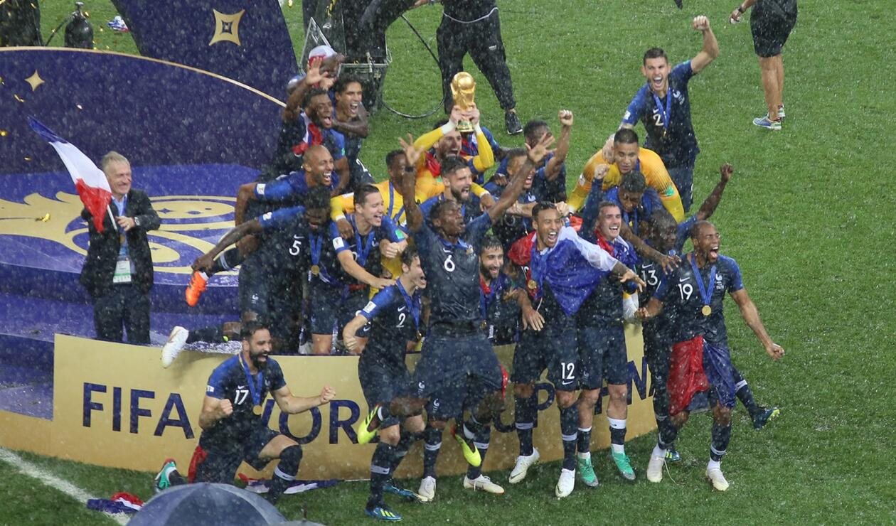 Celebración de Francia