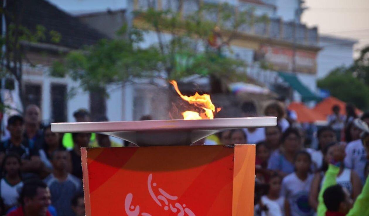 Fuego de los Centro Americanos y del Caribe - Barranquilla 2018