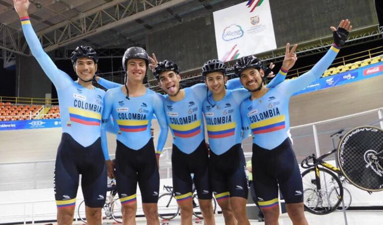 Edwin Ávila y Juan Arango ganaron plata en la Madison Masculino