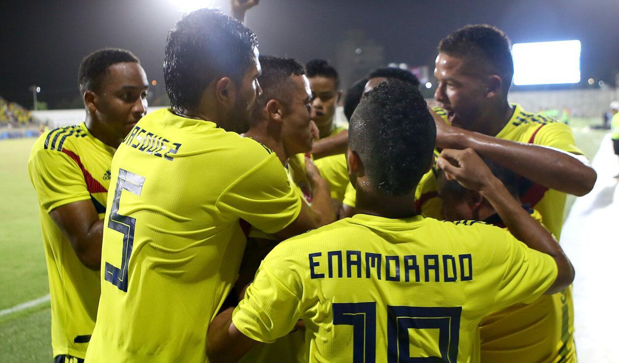 Colombia venció a Venezuela en la final de fútbol masculino