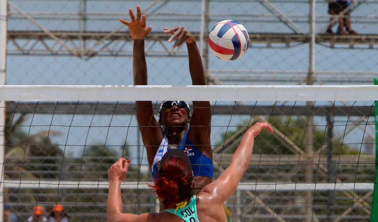 Colombia derrotó a República Dominicana en el voleibol playa de los Juegos Centroamericanos y del Caribe Barranquilla 2018