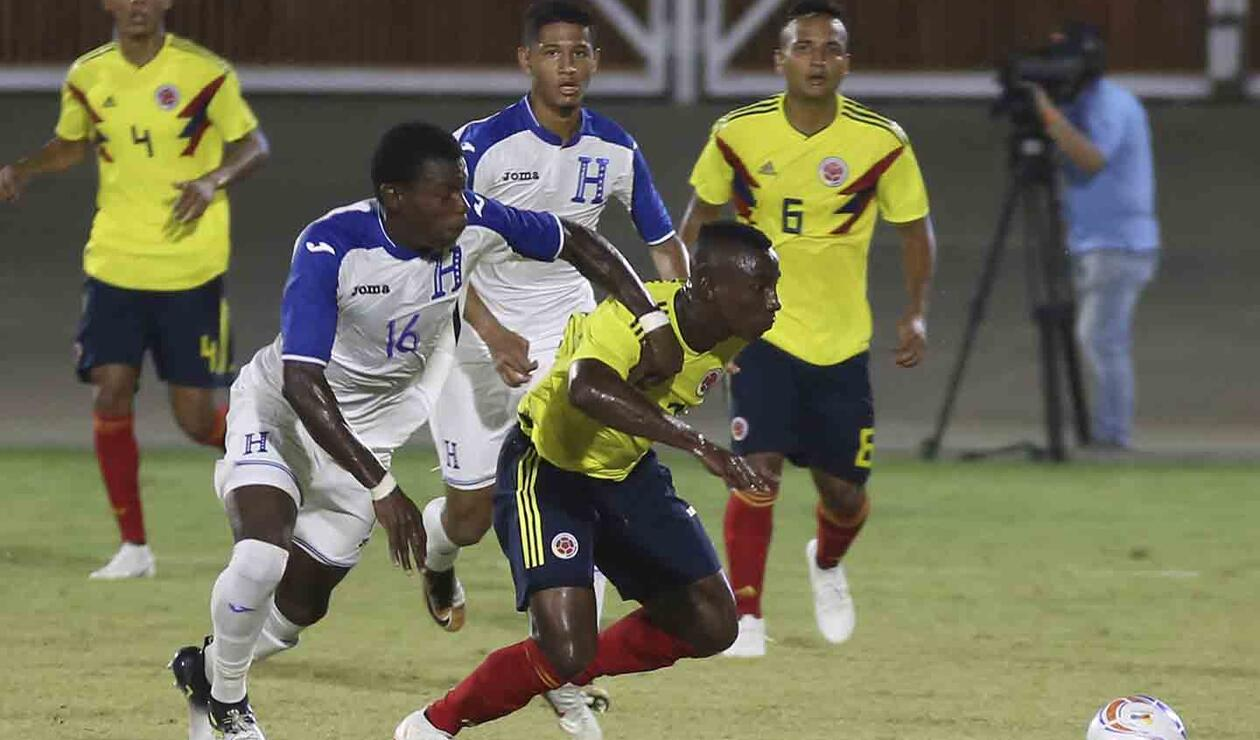 Colombia y Honduras empataron 1-1 en la segunda fecha del grupo