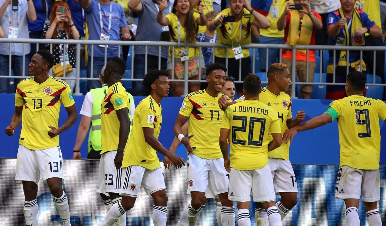 selección Colombia Senegal Rusia 2018
