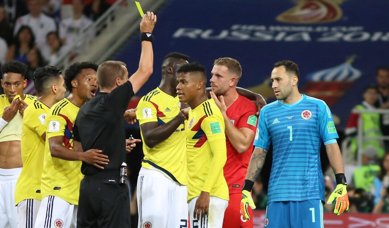 Colombia Inglaterra 2018