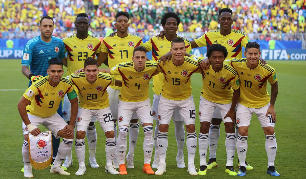 Colombia Senegal Rusia 2018