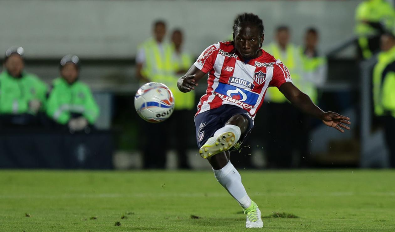 Yimmi Chará jugó con Junior de Barranquilla entre 2017 y 2018