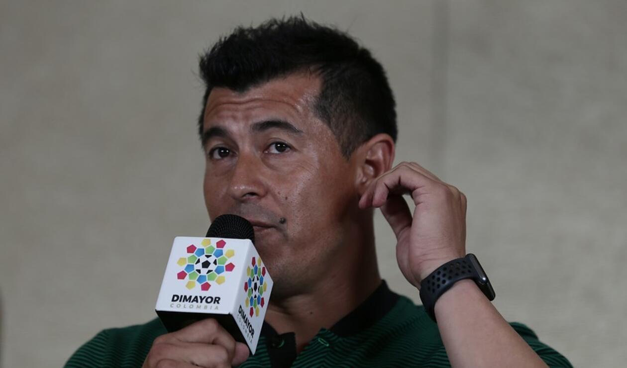 Jorge Almirón fue cesado del cargo de técnico en Atlético Nacional