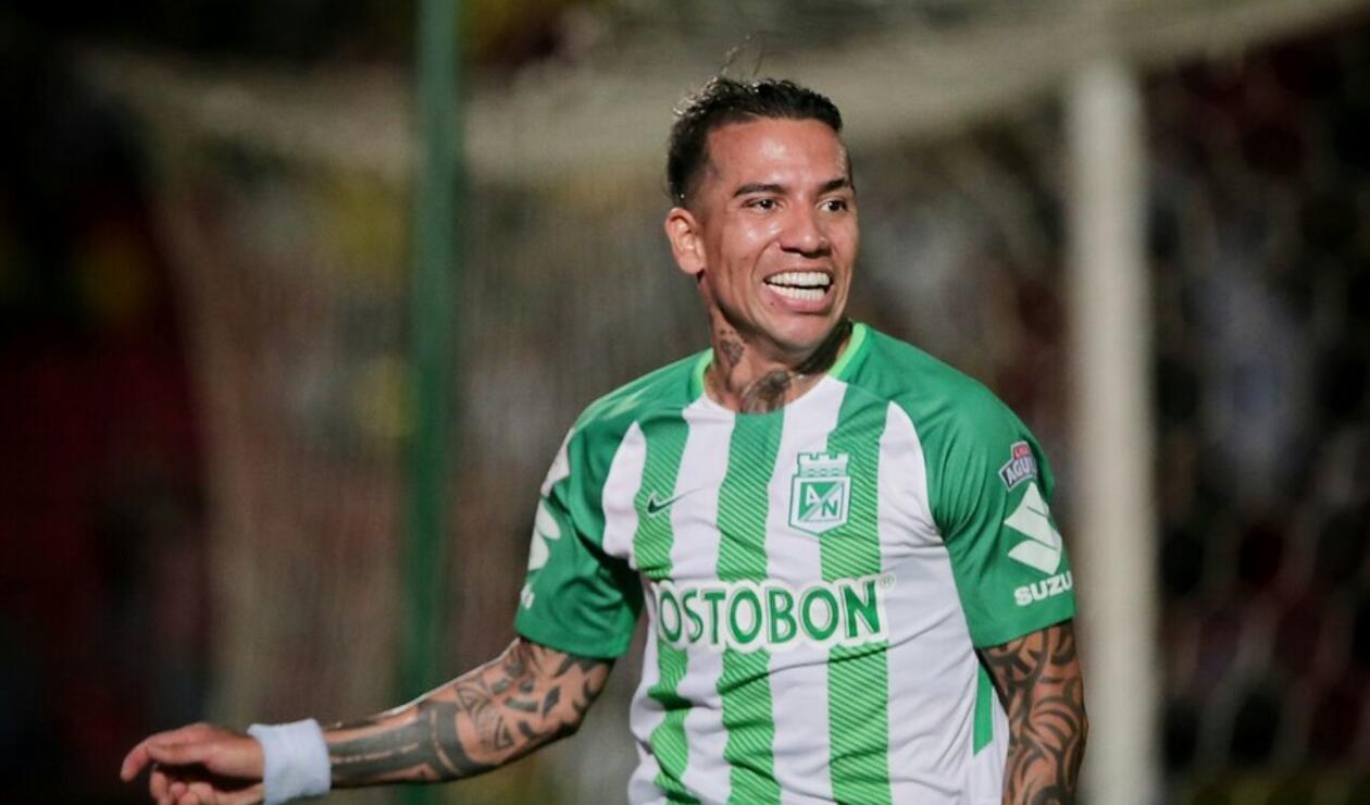 Dayro Moreno, jugador de Atlético Nacional