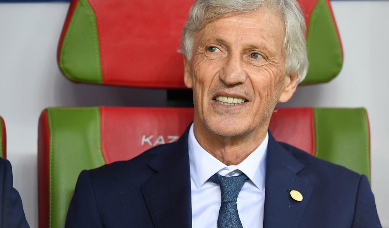 José Pékerman  dirigió a la Selección Colombia en Rusia 2018